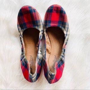 Lucky Brand Plaid Tartan Erin Ballet Flats